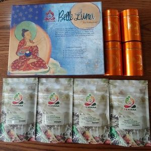 Brand New!!!! Teavana Belle Luna Tea Collection!